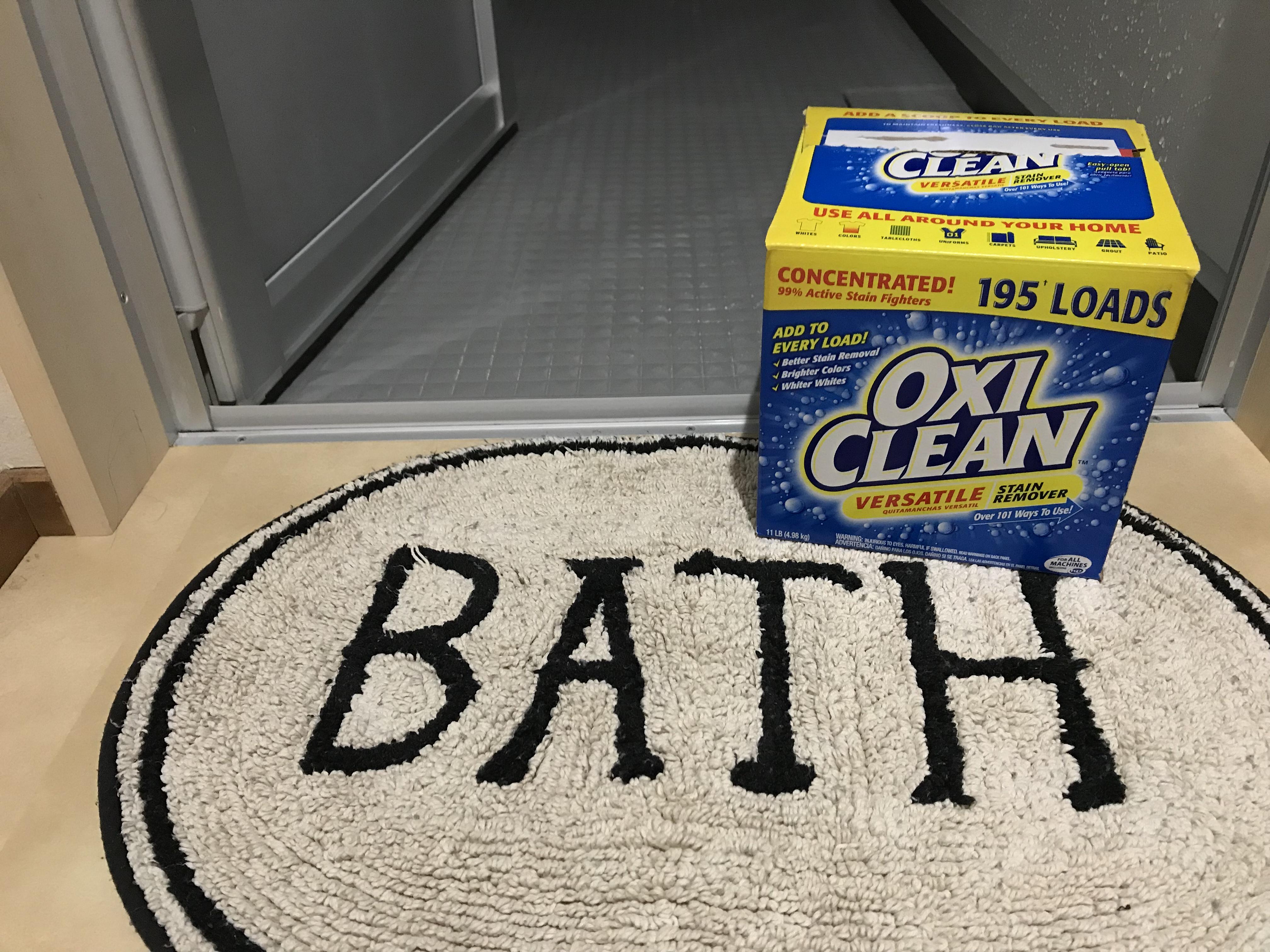 お風呂の床を簡単にオキシ漬け それでも残る白い汚れを落とす方法とは