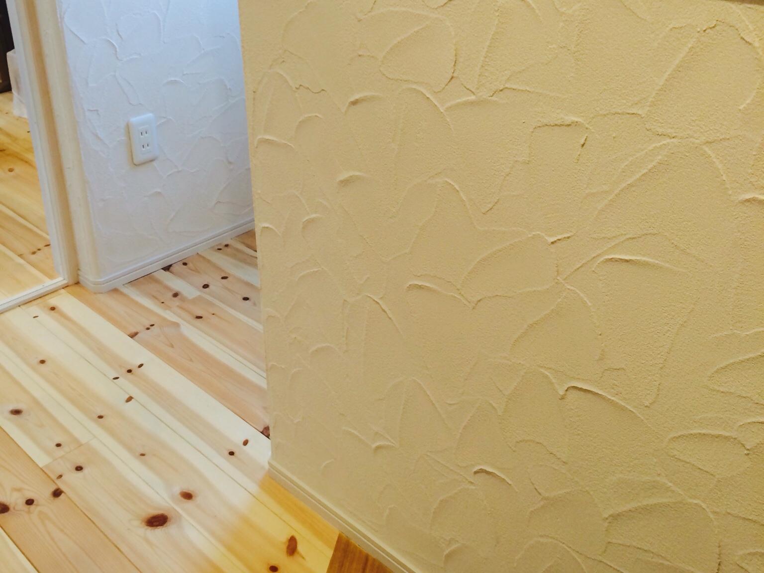 珪藻土の塗り壁のメリットやデメリット我が家のパターンは渋すぎる